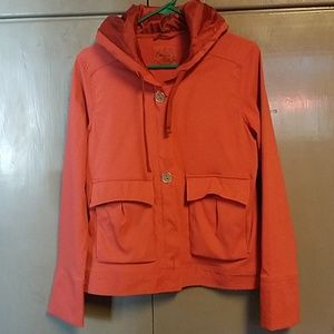 Prana lightweight jacket with Hood size Med